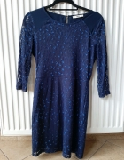 Granatowa sukienka M...