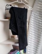 Czarne farbowane rurki HM...