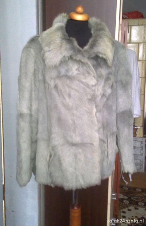 Odzież wierzchnia kurtka futrzana Norki L