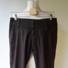 Spodnie Brązowe Elegackie Do Pracy Reserved S 36
