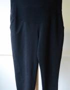 Spodnie Dresowe Dresy H&M Mama Czarne L 40 Ciążowe...