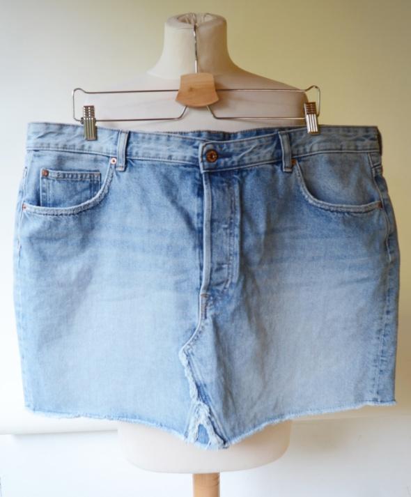 Spódnice Spódniczka Jeansowa 52 6XL Dzinsowa H&M Jeans Dzins