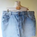 Spódniczka Jeansowa 52 6XL Dzinsowa H&M Jeans Dzins