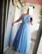Sukienka księżniczka z tiulem 46 48...