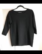 Czarny piękny sweterek Reserved rozmiar M rękawki 3 4...
