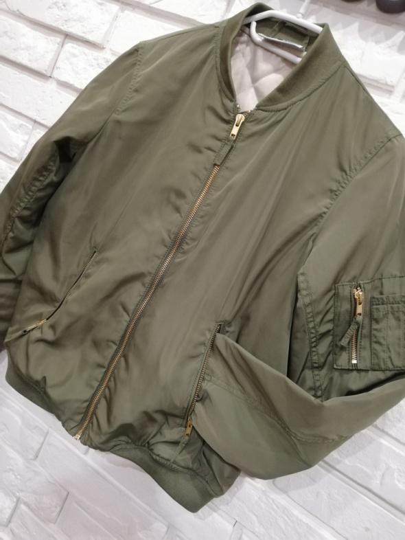 Damska kurtka bomberka khaki 38