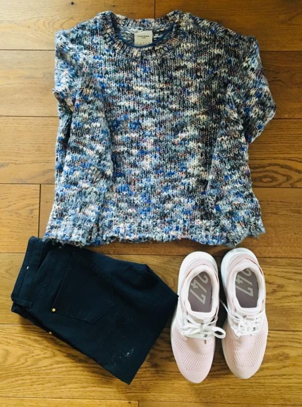 Kolorowy sweter Vero Moda...
