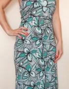 H&M sukienka S M za kolano