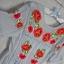 ASOS Sukienka Midi Haftowana Wyszywane Kwiaty Róże Ażurowe Wstawki Baby Blue Boho Folk Retro S