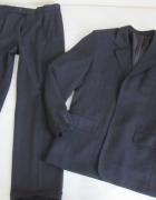 Garnitur marynarka spodnie wzrost 182 cm pas 86...