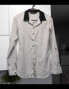 Reserved koszula print wzory gwiazdki...