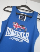 Lonsdale niebieska bokserka napis vintage sportowa...