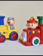 SMIKI press and go straż pożarna i ciuchcia zabawki grające...