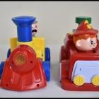 SMIKI press and go straż pożarna i ciuchcia zabawki grające