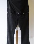 Spodnie H&M Mama Granatowe Rozszerzane Nogawki XXL 44 Ciąża...