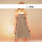 Śliczna suknia beż perły 34 APART
