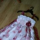 Haftowana biała sukienka 134
