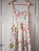 Sukienka kwiaty łąka Mohito 32 34 XXS XS nowa wiosna lato...
