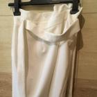 spódnica biała 36 S Stradivarius