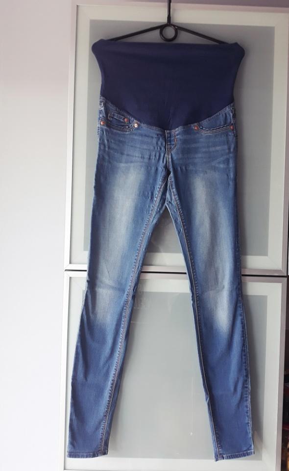 Spodnie ciążowe rurki jeansy rozmiar S...