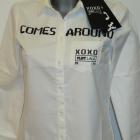 PLNY LALA biała koszula What goes around