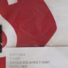 PLNY LALA koszulka Kiss Red White