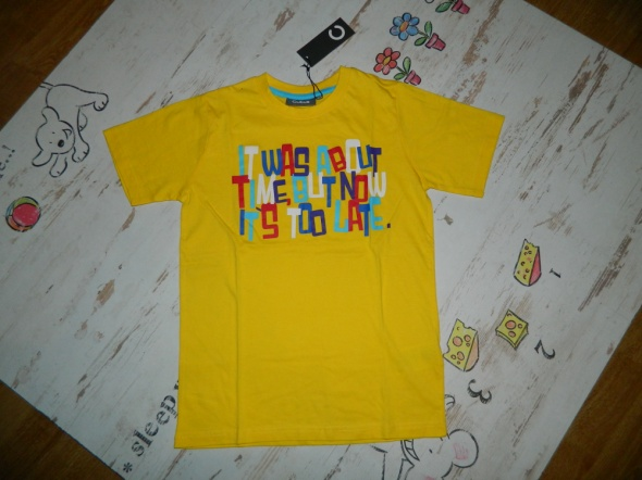 CUBUS koszulka z nadrukiem roz 140