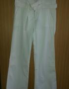 Białe spodnie Orsay XS...