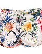 nowe eleganckie spodenki pull&bear floral print