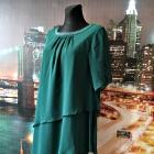 cellbes sukienka butelkowa zieleń diamenciki nowa hit blog 38 40
