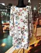 atmosphere sukienka mgiełka kwiaty motyle nowa hit 38...