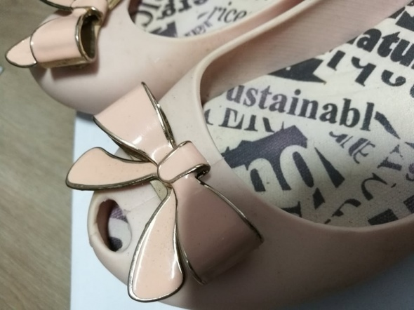 gumowe różowe buty 37