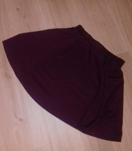 Spódnice Bordowa spódniczka