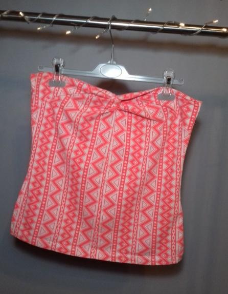 Bluzeczka bez ramiączek H&M