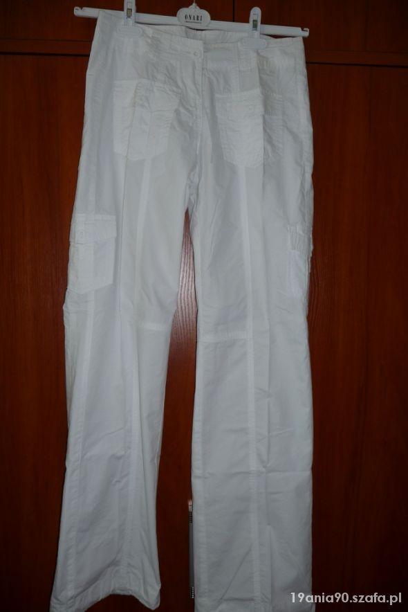 Białe spodnie Big Star biodrówki