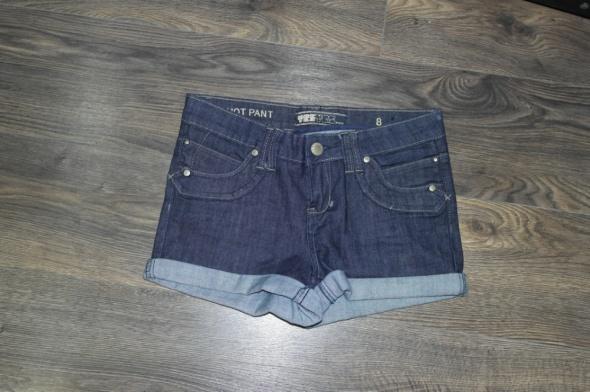 Spodenki jeansowe krótkie 36...