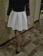 Koronkowo piankowe sukienka...