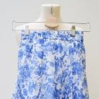 Spódnica Rozkloszowana XS 34 Gina Tricot Kwiaty Bl