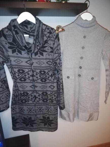 Dwie sukienki tuniki...