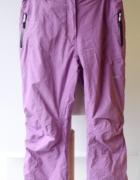 Spodnie Narciaskie Fioletowe L 40 Northpeak Kombinezon Snowboar...