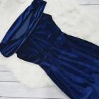 Sukienka welurowa S M
