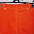 pomarańczowa spódnica dłuższa 42 44