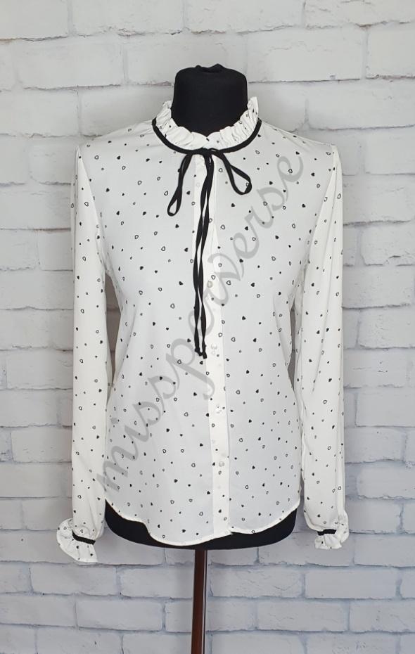 Biała koszula serduszka w Koszule Szafa.pl  KD88u