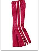 44 46 Spodnie sportowe czerwone dresowe dresy