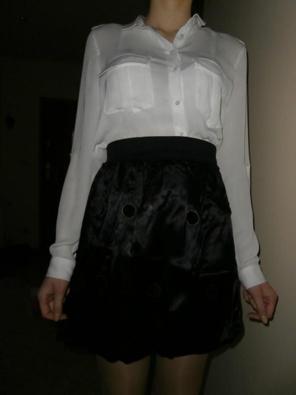 Spódnice Spódniczka bombka czarna na gumce
