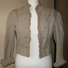 kurtka stylizowana na mundur