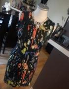 piękna kolorowa sukienka HIT...