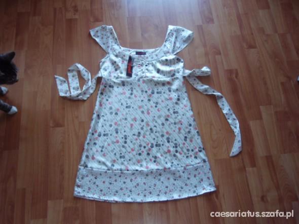 Śliczna sukienka tunika M NOWA z metką