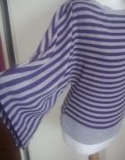 Bluzeczka w paski OVERSIZE...