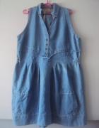 jeansowa sukienka...